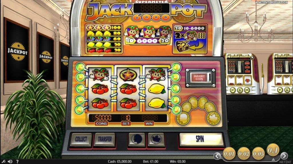 Anmeldelse av Jackpot 6000